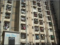 Tower block in mumbai