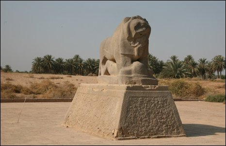 Lion of Babylon, Iraq (Photo by Andrew North)