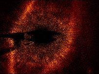 La estrella Fomalhaut ((Paul Kalas/UC Berkeley; STScI)
