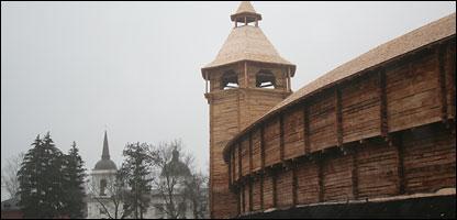 Крепостная стена Батурина