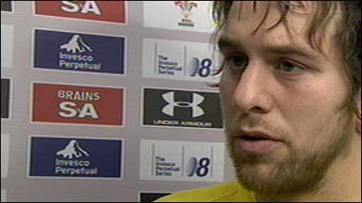 Wales captain Ryan Jones