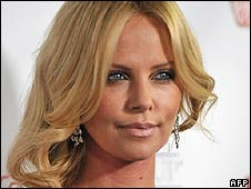 Actress Charlize Theron (October 2008)