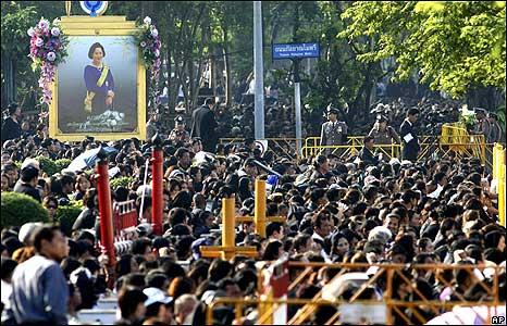 Crowds in Bangkok