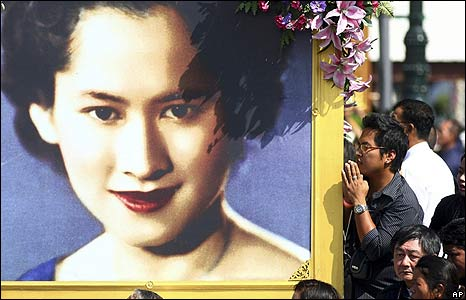 Prayers for Thai princess