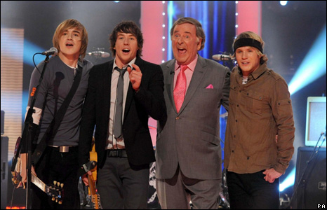 McFly and Terry Wogan