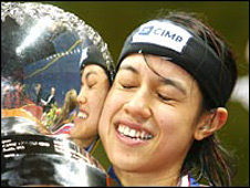 World number one Nicol David