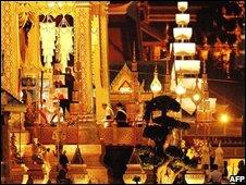 Royal funeral pyre, Bangkok