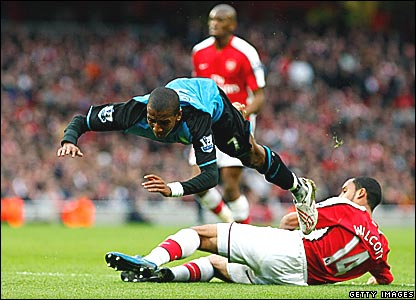 Ashley Young (Aston Villa), Theo Walcott (Arsenal)
