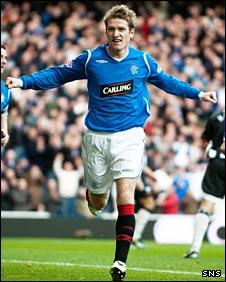 Rangers midfielder Steven Davis