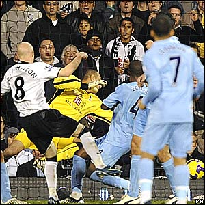 Andy Johnson scores for Fulham