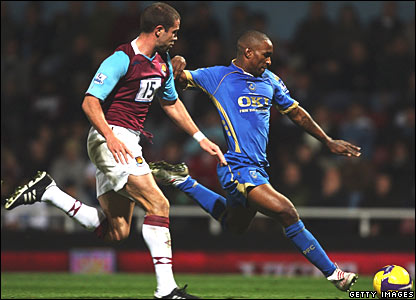 Matthew Upson, West Ham; Jermain Defore, Portsmouth