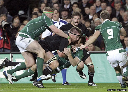 Brad Thorn scores another try for New Zealand