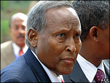 Abdullahi Yusuf Ahmed (29 October 2008)