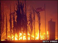 Incendio en Sylmar el 15 de noviembre