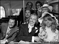 On the Buses cast, 1971