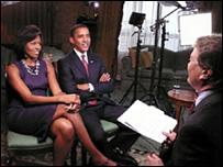 أوباما وزوجته ميشيل