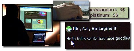 A Soca agent tracking down criminal websites