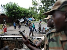 Congolese rebel soldiers