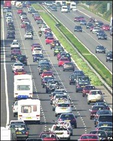 Traffic jam (AP)