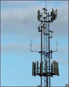 Mobile mast (PA)