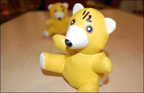 Contaminated toys