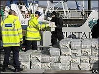 Cocaína incautada en Irlanda