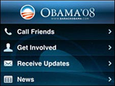 iPhone app for Obama 08