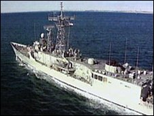Australian navy ship HMAS Adelaide - file photo