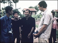 Gunnar Bergstrom visited Khmer Rouge villagers in 1978