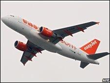 Easyjet aeroplane