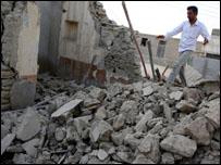 زلزال ضرب جنوبي ايران في سبتمبر الماضي