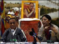 مؤتمر صحفي للمنشقين التبتيين