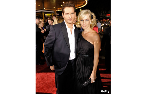 Peter Facinelli and wife Jennie Garth