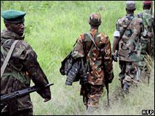 Nkunda's fighters