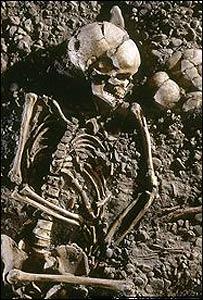 Esqueleto de Eulau (FOTO: Jurai Liptak LDA Sachsen Anhalt)