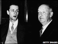Dmitri and Vladimir Nabokov