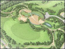 Plans for new visitors' centre