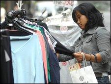 Taiwanese shopper