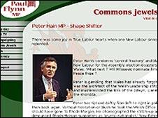 Paul Flynn's website