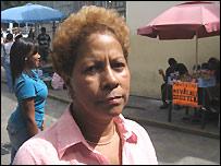 Dalia Torres, enfermera