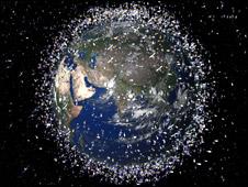 Space debris (Esa)