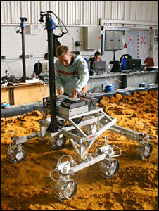 Rover prototype