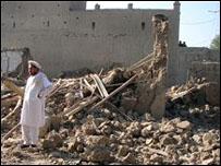 آثار ضربة في منطقة القبائل