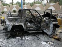 الهجوم على السفارة الامريكية بصنعاء (ارشيف)