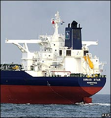The Sirius Star oil tanker (file photo)