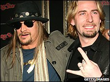 Kid Rock and Chad Kroeger