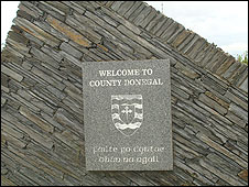 Donegal sign