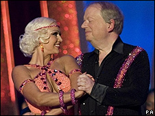 John Sergeant and Kristina Rihanoff