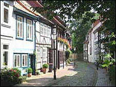 A street in Hamelin (pic: town website)