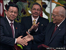 China and Cuba signed agreements in Cuba